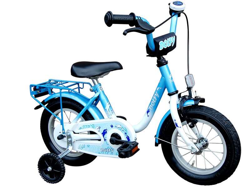 14 zoll kinderfahrrad dolfy fahrrad kinder rad blau ebay. Black Bedroom Furniture Sets. Home Design Ideas
