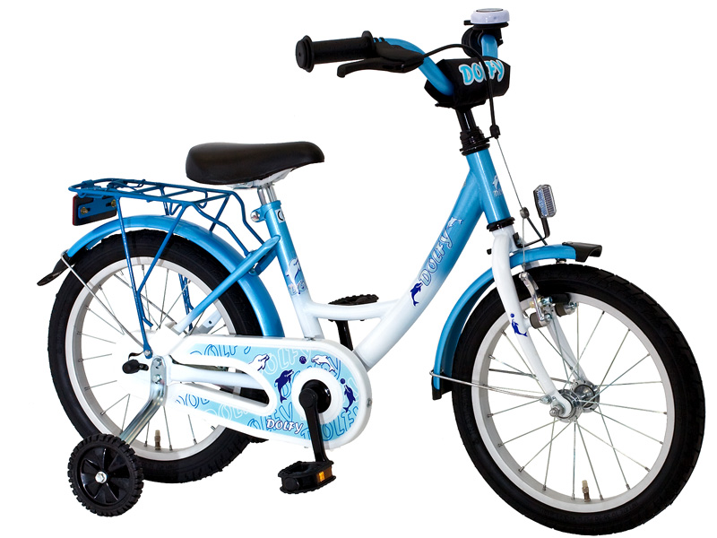 18 zoll kinderfahrrad dolfy fahrrad kinder rad blau ebay. Black Bedroom Furniture Sets. Home Design Ideas