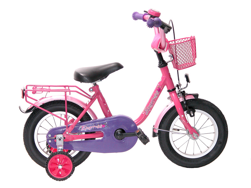 12 14 16 18 zoll kinderfahrrad m dchenfahrrad empress ebay. Black Bedroom Furniture Sets. Home Design Ideas
