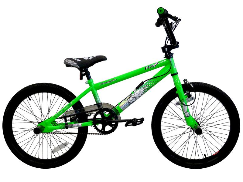 20 zoll bmx freestyle fahrrad bike 360 rotor gr n fd ebay. Black Bedroom Furniture Sets. Home Design Ideas