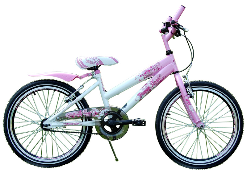 20 zoll kinderfahrrad fahrrad rosa ebay. Black Bedroom Furniture Sets. Home Design Ideas
